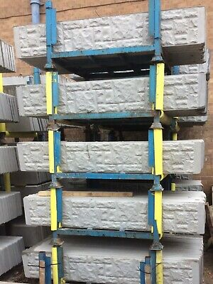 Concrete Gravel Boards ROCK FACE OR SMOOTH Fencing • 9.60£