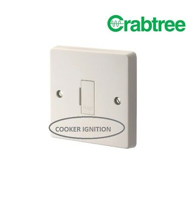 CRABTREE 4828 13a Fused Spur Unswitched Connection Unit COOKER IGNITION Printer • 4.25£