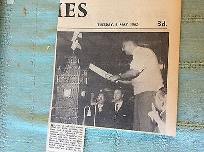 £2.25 • Buy C1-1 Ephemera 1962 Picture Cricketer Colin Cowdrey Margate Clock Tower Charity