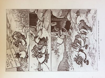 $3.11 • Buy M17a1 Ephemera 1920s Book Plate The Wicked Old Fox Said Glad To See You