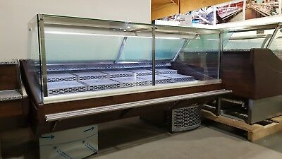 2.0m Serve Over Display Counter Chiller  Meat/fish Fridge Deli Counter • 2,650£
