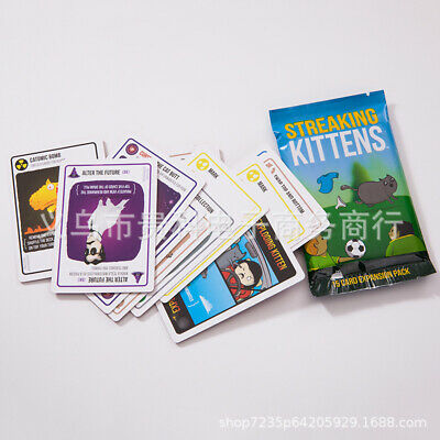 AU11.99 • Buy AU Streaking Kittens Second Expansion Of Exploding Kittens Multiplayer Card Game