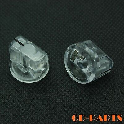 $ CDN10.65 • Buy 10PCS Transparent Plastic Pointer Knob For Guitar Effect Pedal Stomp Box 19x15mm