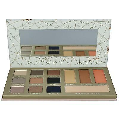 Nudes Face Palette Eyeshadow Blusher Contour Finishing Powder Body Collection • 5.99£