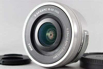 AU116.16 • Buy MINT & NO USED Sony E PZ 16-50mm F3.5-5.6 OSS Silver SELP1650 From JAPAN #0069