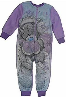 Girls Official Tatty Teddy Me To You Bear Fleece All In One 1Onesie  Age 5-6 • 12.99£