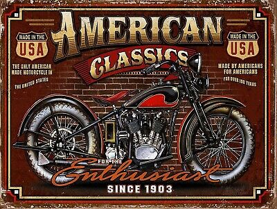£4.58 • Buy American Classic, Retro Vintage Style Metal Sign/plaque Man Cave Shed Garage