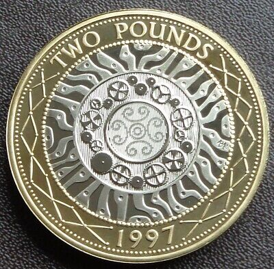 1997 - 2021 Elizabeth II £2 TWO Pound Coin Proof - Choose Your Year • 10.99£