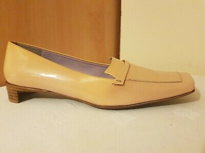 £40 • Buy Audley Beige Patent Leather Lofers Women's Stylish Shoes, Size 38.5