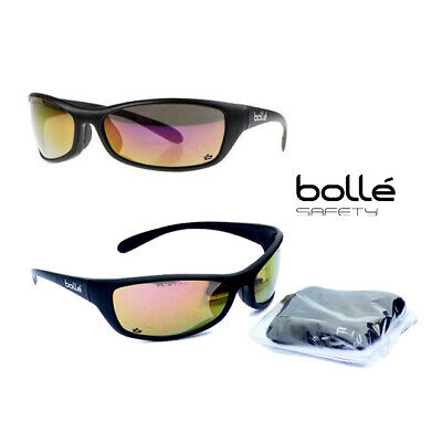 Bolle SPIDER Safety Glasses Spectacles UV Protection Free Storage Bag  • 12.69£