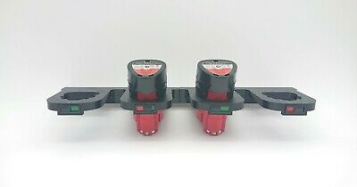 AU27.97 • Buy Milwaukee 12V M12 Battery Carry Case Holder Mount Brackets Storage 2,3,4 & 6