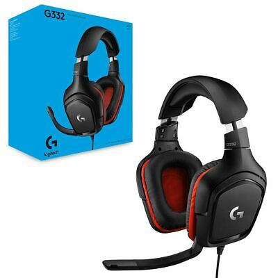 AU107.95 • Buy Logitech G332 Prodigy Wired Stereo Gaming Headset NEW