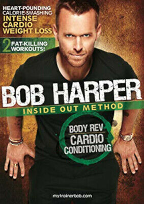 EXERCISE DVD - Bob Harper Inside Out Method - BODY REV CARDIO CONDITIONING • 8.72£