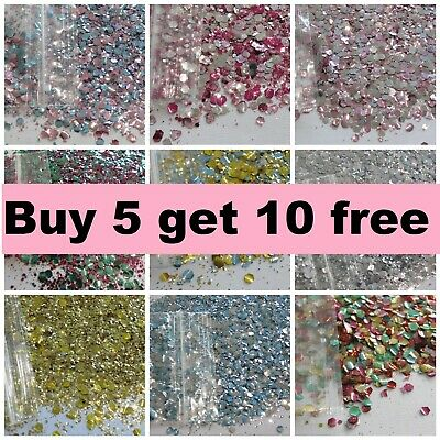 Biodegradable Glitter Festival Chunky Cosmetic Mix Eco BUY 5 GET 10 FREE • 1.79£
