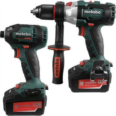 View Details Metabo LXTBL 18V Li-Ion Cordless Brushless Combi Drill & Impact Driver Twin Pack • 227.99£