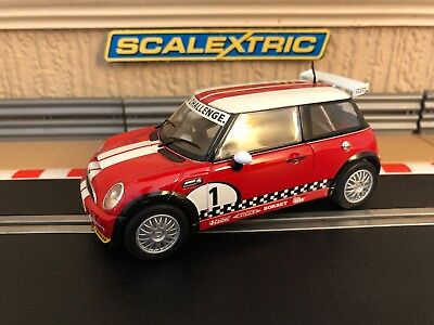 Scalextric Mini Cooper Works Challenge C3019 Mint Condition • 50£