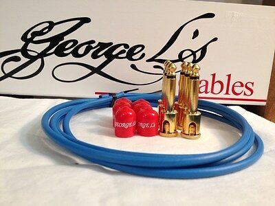 $ CDN85.85 • Buy George L's 155 Guitar Pedal Board Cable Kit .155 Blue / Red / Gold - 6/6/6