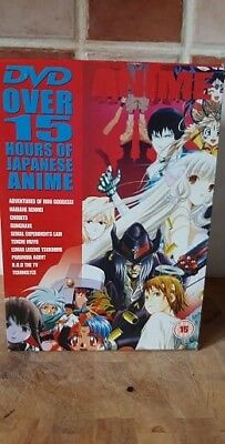 New 10 DVD JAPANESE ANIME Boxset With Over 15 Hours Of ANIME ~ Region 0  • 23.95£