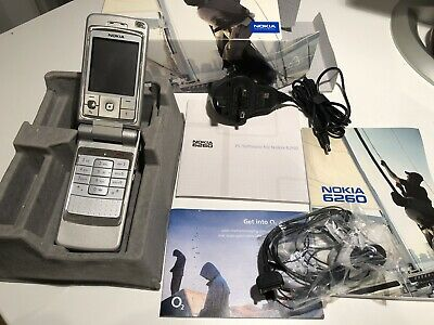 Nokia 6260 Mobile Phone Boxed With Accessories Excellent • 125£