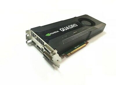 $ CDN391.42 • Buy NVidia Quadro K5000 4GB PCI-E Graphics Card 4 Screen Display For Mac Pro 3.1-5.1