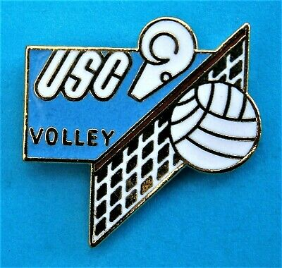 £4.99 • Buy F933*) Enamel Olympic Games USC 1999 France Volley Ball Tie Lapel Pin Badge