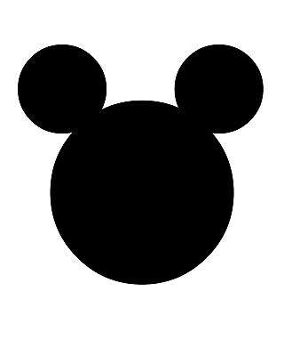Mickey Mouse Logo Poster Wall Art Print Typography Home Decor A4 Gift • 4.50£