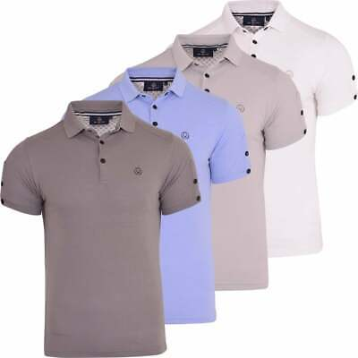 £14.99 • Buy Duck And Cover Polo Shirt Collared Luxury Cotton T Shirt Short Sleeved Logo Top