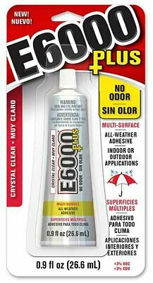 E6000 Glue Multi-surface Crystal Clear 26,6 Ml Jewellery Making Crafts • 7.98£
