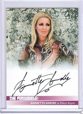 $ CDN52.88 • Buy The Persuaders Autograph Card AA1 Annette Andre Unstoppable Cards UK SFC