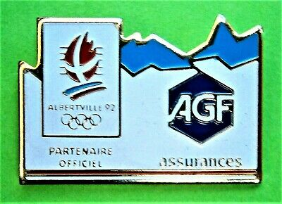 £6.50 • Buy F900*) Albertville 92 Winter Olympic Games Sports AGF Tie Lapel Pin Badge