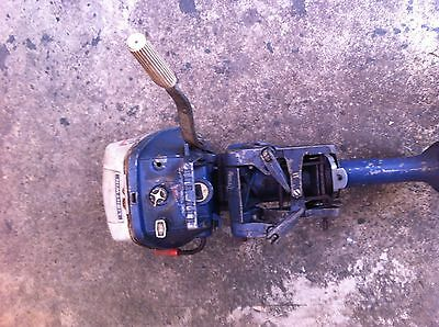AU59 • Buy Outboard Motor/boat Motor Evinrude/johnson 4 Hp Wrecking Parts Selling Parts