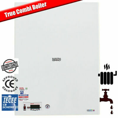 12kW Wall Hung Electric Combi Boiler - Central Heating & Hot Water  - BRAND NEW • 2,180£
