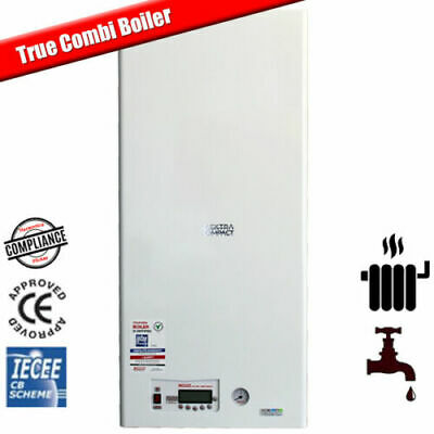12kW Wall Hung Electric Combi Boiler For Flats - Central Heating & Hot Water  • 1,785£