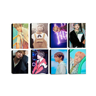 $9.99 • Buy BTS Taehyung V Lomo Trading Photocard Set - Love Yourself Photo Card