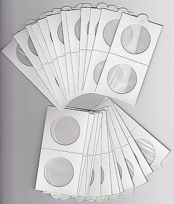 AU7.95 • Buy LIGHTHOUSE 35mm SELF ADHESIVE 2 X 2  COIN HOLDERS X 25 - SUIT PENNY Or 50CENT