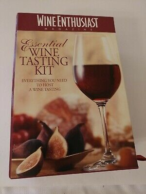 Essential Wine Tasting Kit By Wine Enthusiast Magazine NEW OPEN BOX • 8.95$