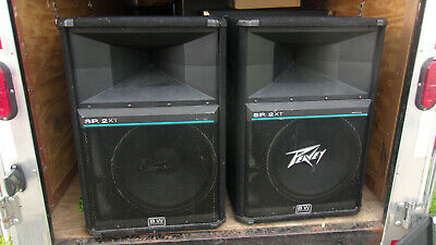 $399.01 • Buy Peavey SP 2XT 2-Way PA Speakers 1000 Watts Program 'A Pair'