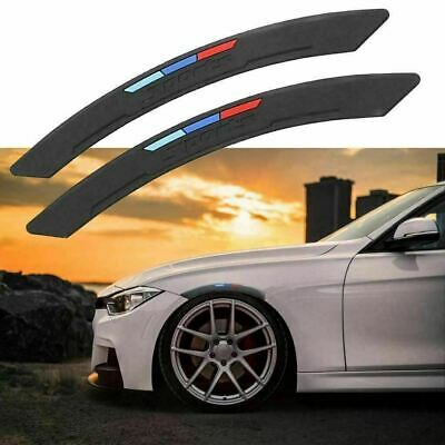 $15.99 • Buy M-Color Sport Wheel Eyebrow Arch Lips Fender Guard Protector Strips Trim For BMW