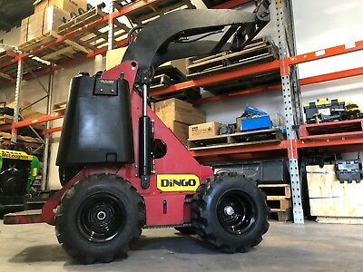 AU202 • Buy Dingo Wheel And Tyre Aftermarket 8  Lug Tyre 8 Inch LUG Tyre Mini Loader Single