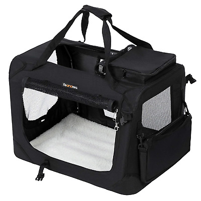 View Details FEANDREA Dog Carrier Folding Fabric Pet Carrier Lightweight Pet Cage Bag Pet Car • 74.91£