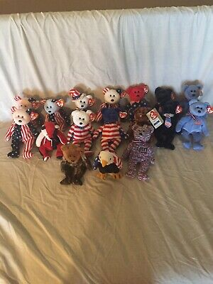 $500 • Buy Beanie Baby Lot USA THEMED