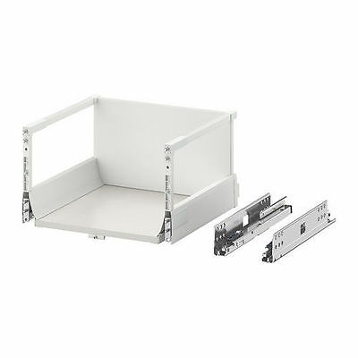 MAXIMERA Drawer Box HIGH [40x37cm] W/ Steel Runners Blum Antaro | IKEA Brand New • 29.96£