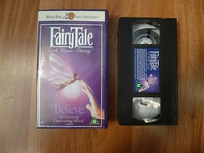 Fairytale: A True Story VHS Video Tape • 5.99£