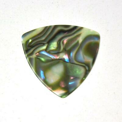 $ CDN15.53 • Buy 100pcs 0.71mm 346 Rounded Triangle Guitar Picks Plectrums Celluloid Abalone
