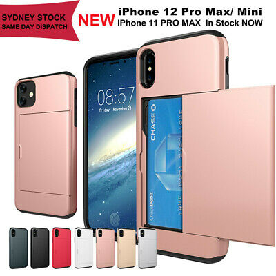 AU7.59 • Buy For IPhone X XS Max XR IPhone 8 Plus 7 Plus SE2020 Wallet Card Holder Case Cover