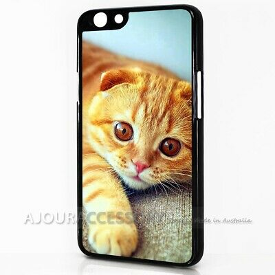AU9.99 • Buy ( For Oppo A57 ) Back Case Cover AJ10552 Cute Pussy Cat