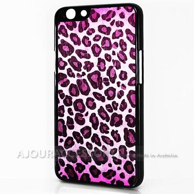 AU9.99 • Buy ( For Oppo A57 ) Back Case Cover AJ10433 Pink Leopard Pattern