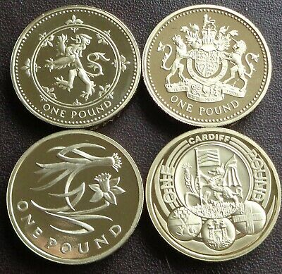 £9.49 • Buy 1983 - 2021 Elizabeth II £1 (One Pound) Proof Coin - Choose Your Year