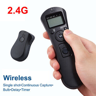 AU38.74 • Buy Wireless LCD Timer Remote Controller For Sony A7 A7R A7S A3000 A6000 A5000 A5100