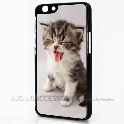 AU9.99 • Buy ( For Oppo A57 ) Back Case Cover AJ10666 Cute Pussy Cat